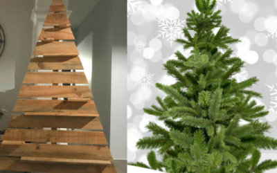 DIY : SAPIN EN BOIS NATUREL